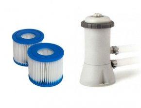Intex-Jilong filterpompen en zandfilters
