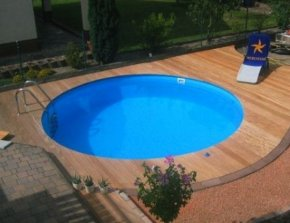 Zwembad liner rond