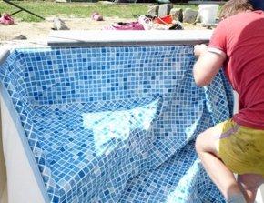 Zwembad liners op maat