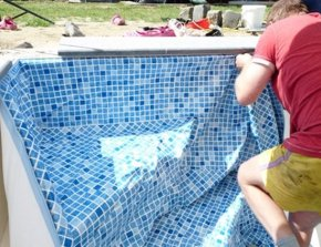 Zwembad liners