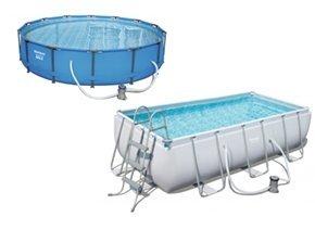 Bestway zwembaden met frame