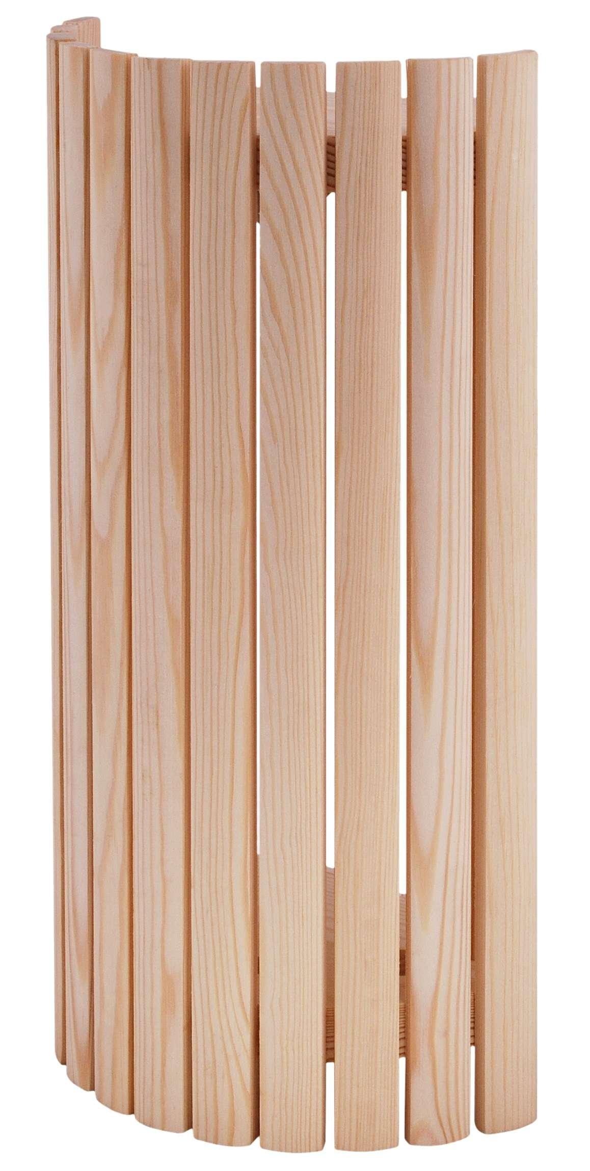 Afbeelding van Lampscherm sauna in Pine