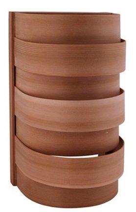 Afbeelding van Luxe Lampscherm sauna in Red Cedar