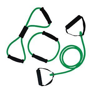 Afbeelding van Tunturi Tubing Set met Handgrepen Groen