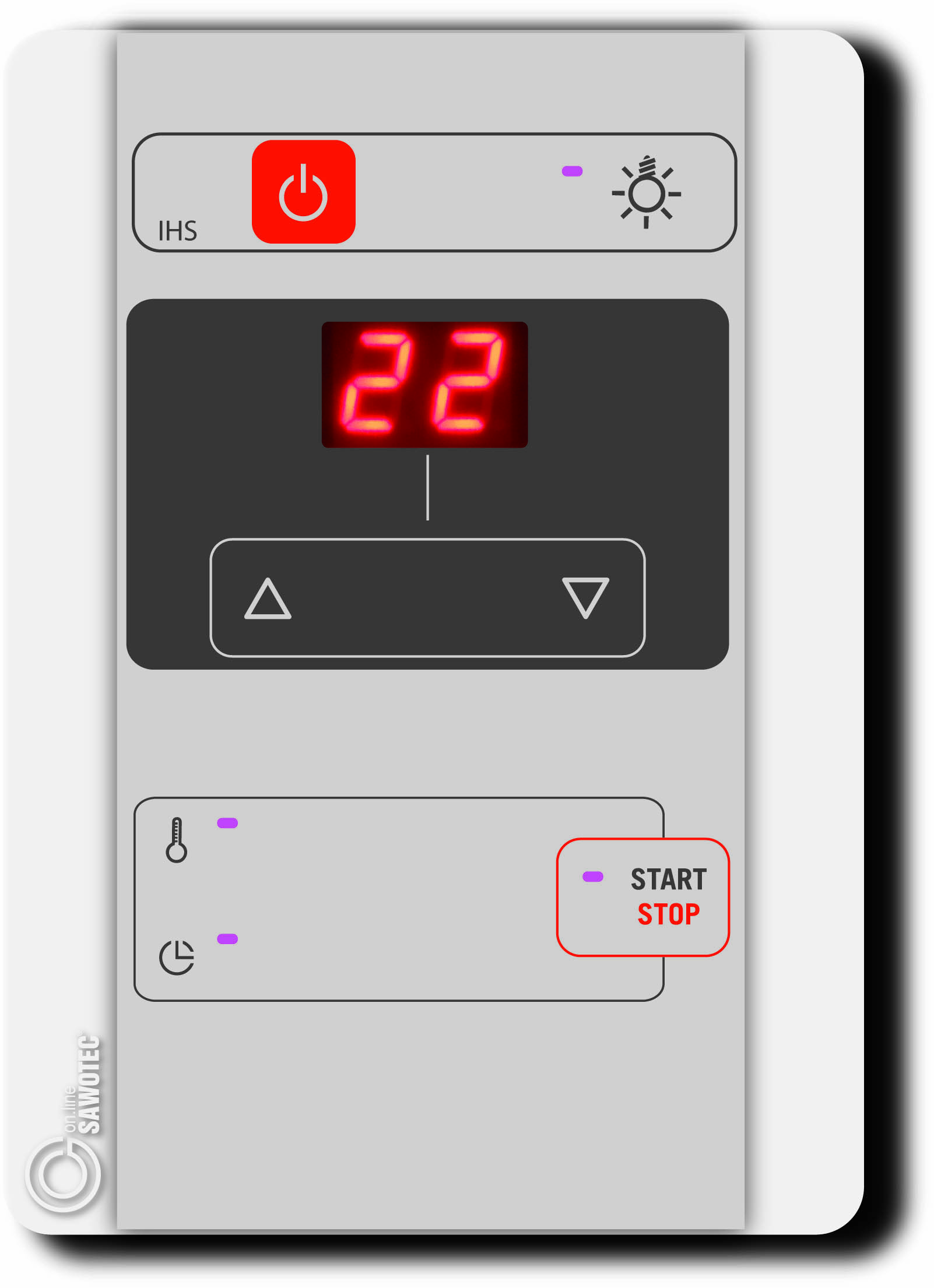 Afbeelding van Infrarood besturing Ondal P-IHS-T voor stralers