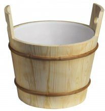 Afbeelding van Professionele sauna emmer (26 liter)