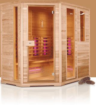 Afbeelding van Healthvision Exclusive Seven L Infrarood cabine