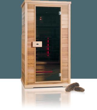 Afbeelding van Nobel Infraroodsauna 110 Sauna Infraroodcabine DEMO
