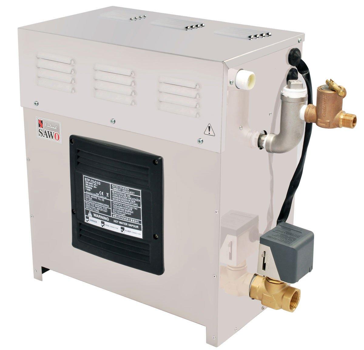 Afbeelding van Sawotec 3,5 kW stoomgenerator tot 3,5 m3 (STP-35-1/2)