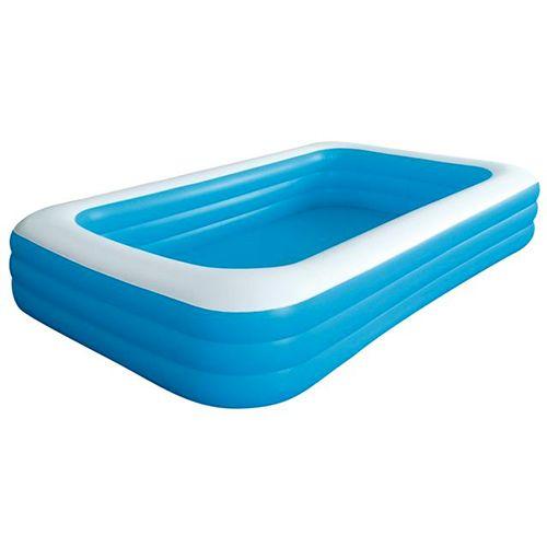 Afbeelding van Groot opblaasbaar rechthoekig zwembad