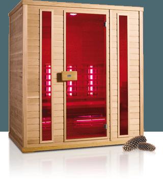 Afbeelding van Healthvision Exclusive Six Infrarood cabine