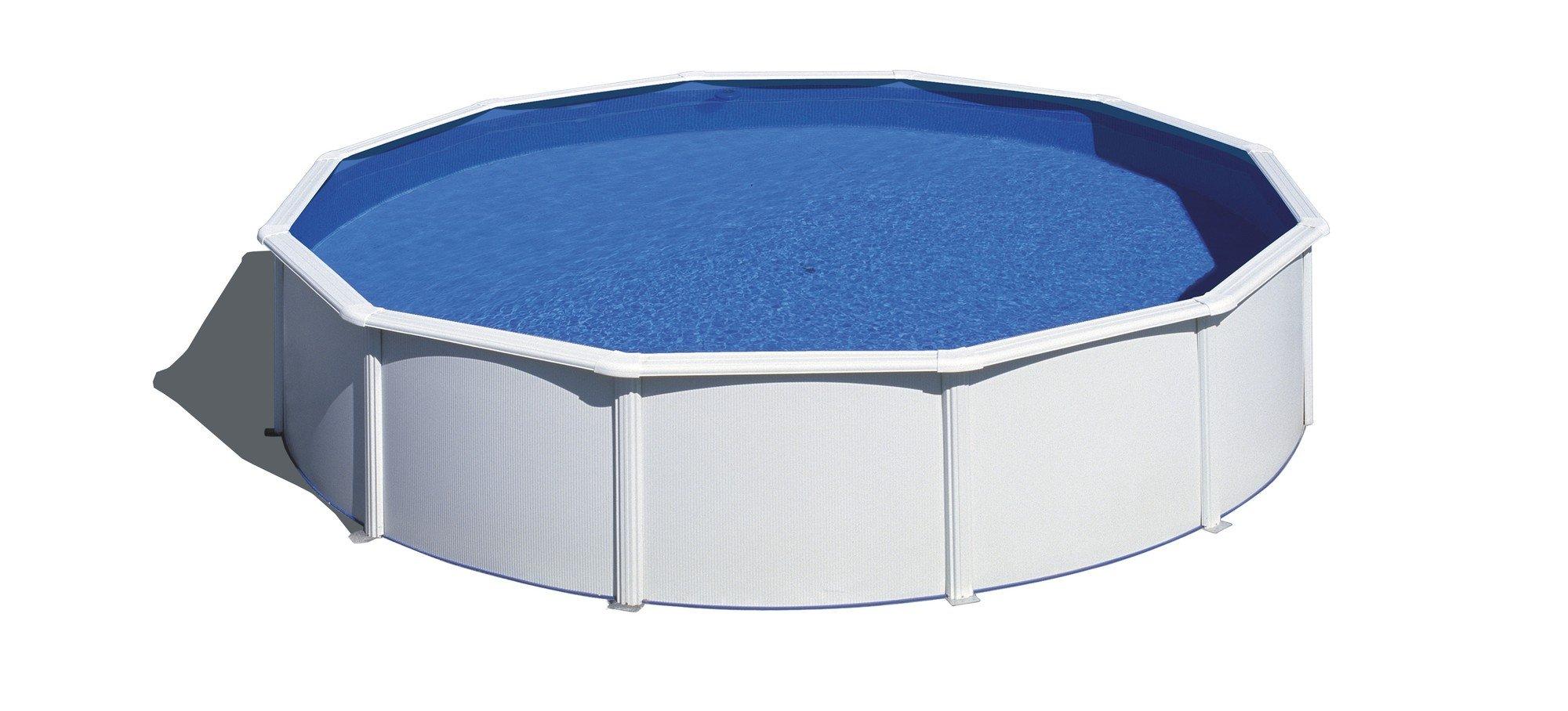 Afbeelding van Gré Atlantis stalen zwembad - 350 x 132 cm