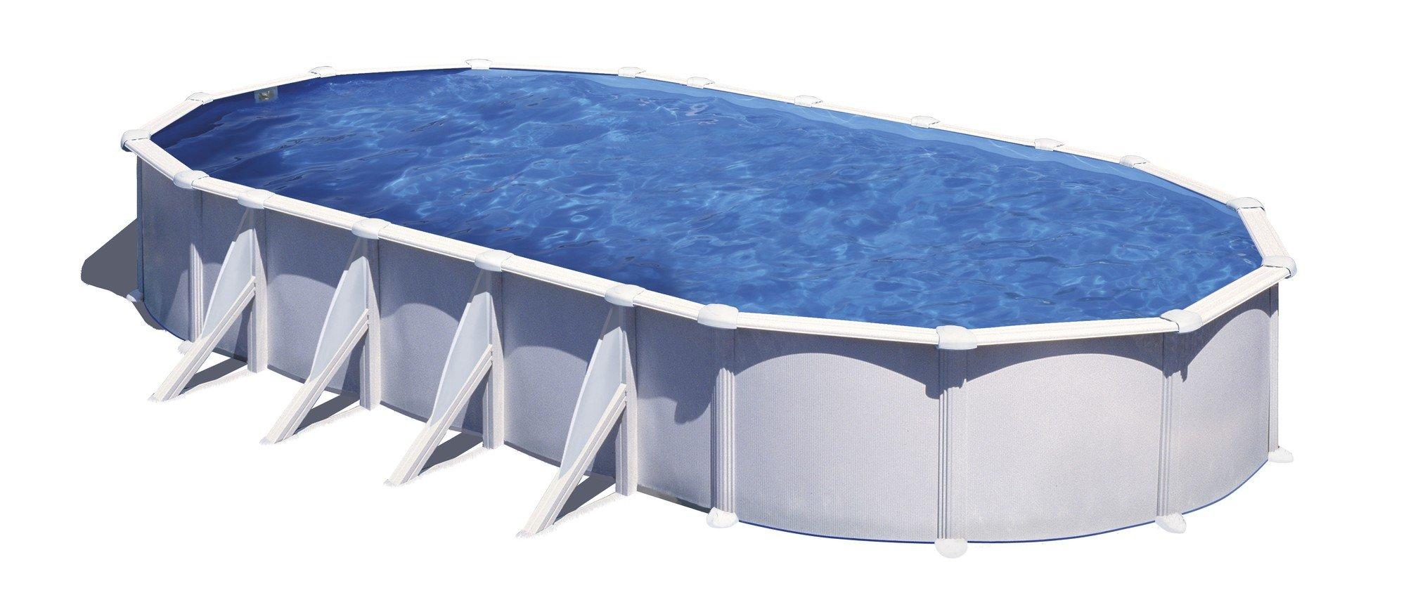 Afbeelding van Gré Atlantis stalen zwembad - 810 x 470 x 132 cm