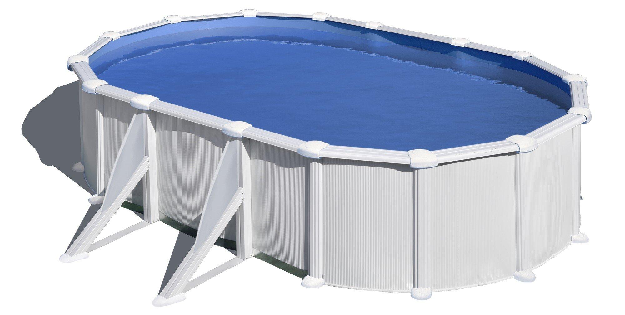 Afbeelding van Gré Atlantis stalen zwembad - 610 x 375 x 132 cm