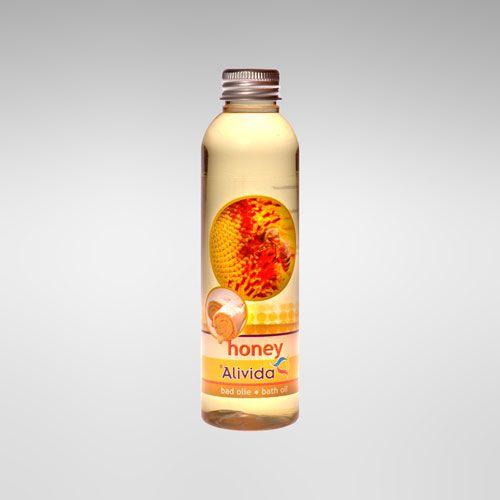 Afbeelding van Badolie Honey 150 ml