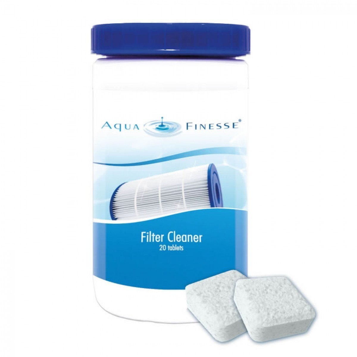 Afbeelding van AquaFinesse Spa Filter Clean | Tabletten