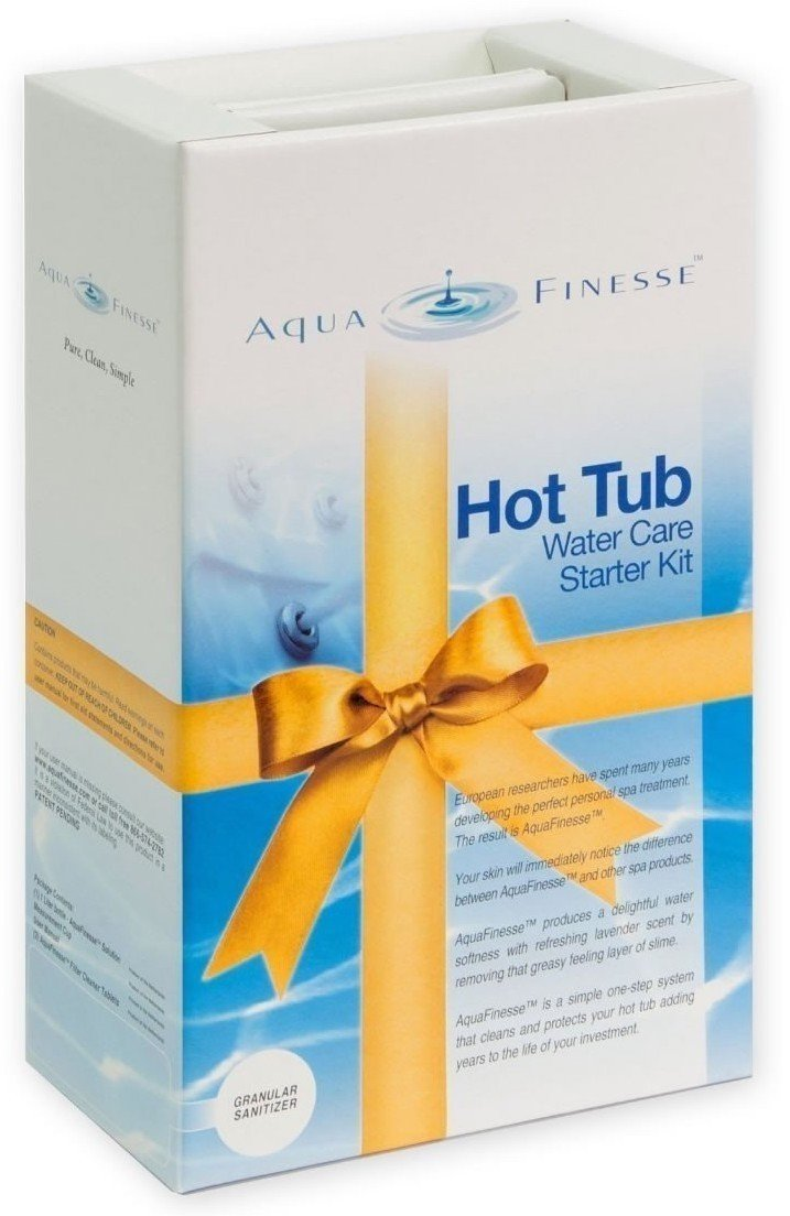 Afbeelding van AquaFinesse Proefpakket 1 Maand voor spa of Jacuzzi