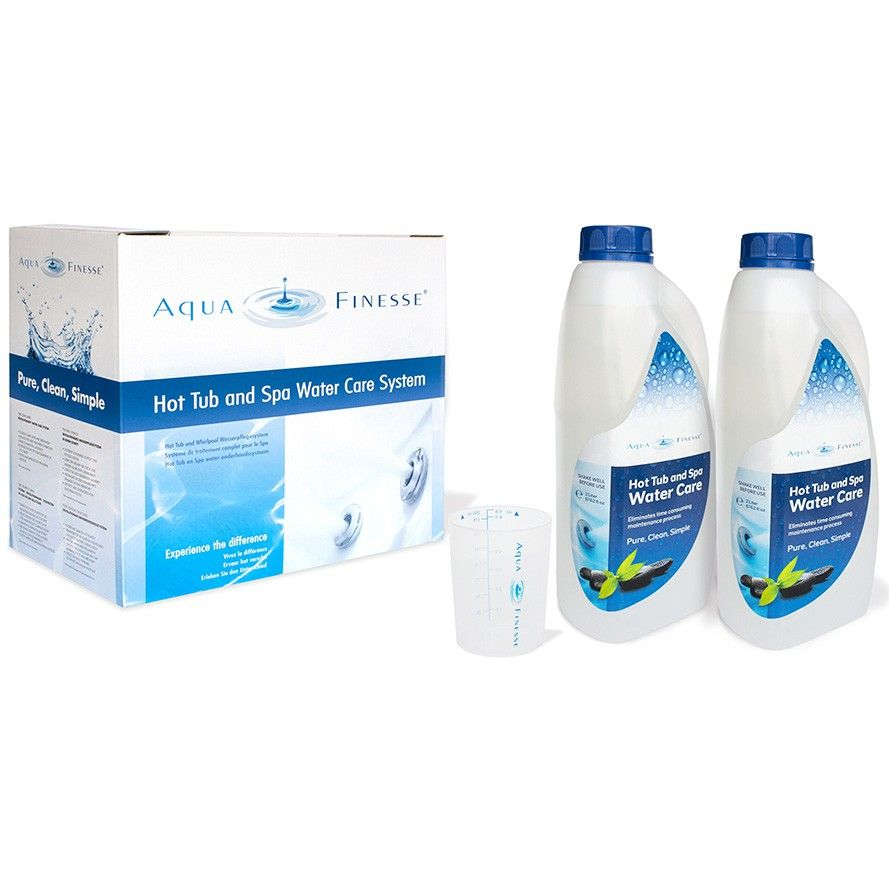 Afbeelding van AquaFinesse spa waterbehandeling pakket