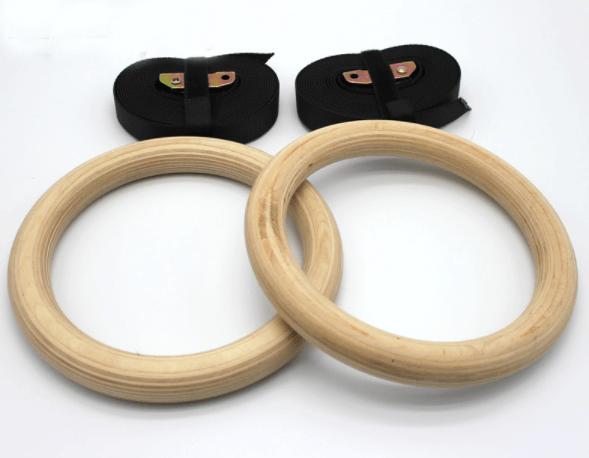 Afbeelding van Burn Gear houten Crossfit gymringen