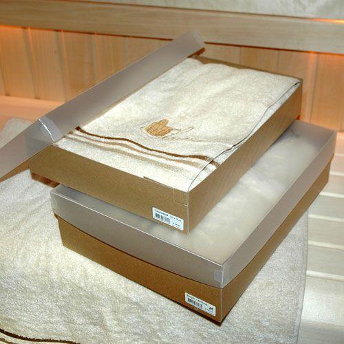 Afbeelding van Heren saunaset in geschenkverpakking