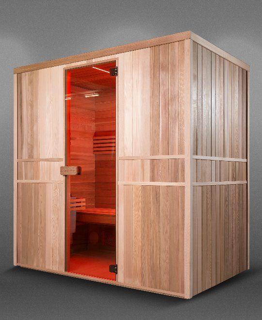 Afbeelding van Infrawave infrarood cabine / sauna Combi RR-203 2018