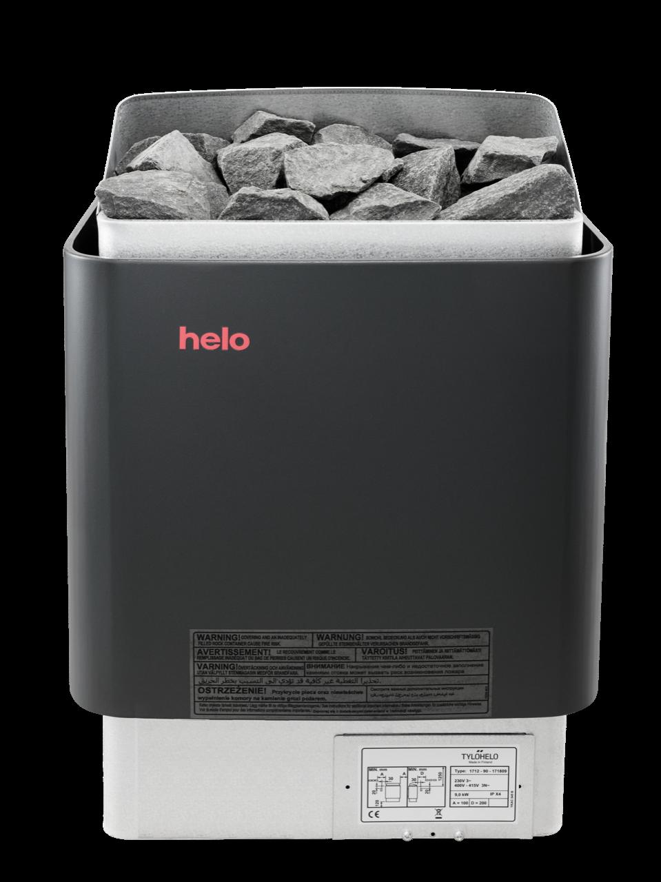 Afbeelding van Helo CUP 90D saunakachel 9 kW (externe besturing)