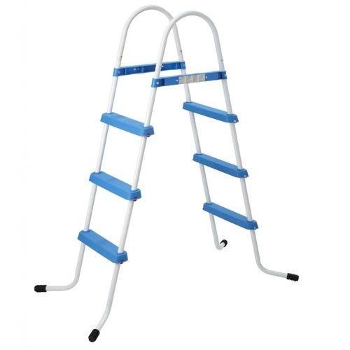 Jilong Blauwe Zwembad Trap 3 Treden, 109 cm