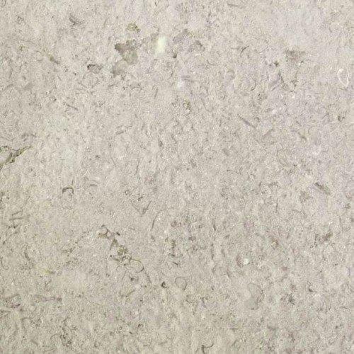 Buitenhoektegel White Stone