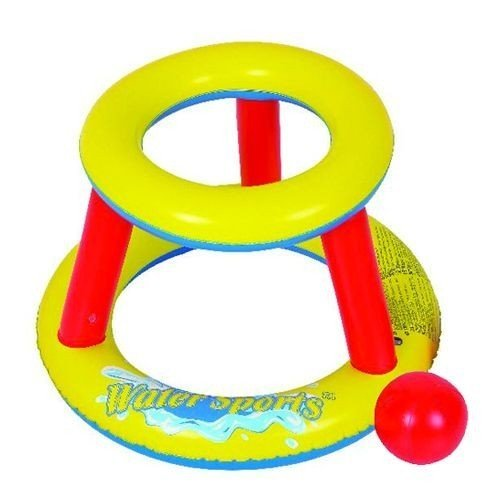Water sport basketball set rond