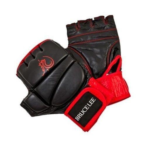 Tunturi Bruce Lee dragon deluxe MMA grappling handschoen leder