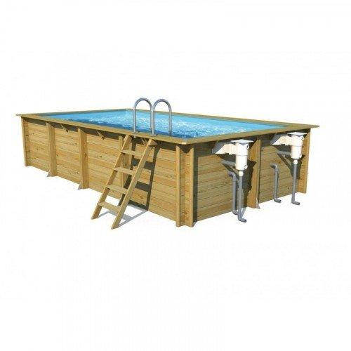 Cerland houten zwembad Weva Rectangle 6x3