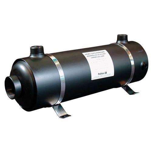 Pahlen Hi-flow horizontale RVS warmtewisselaar - 28kW