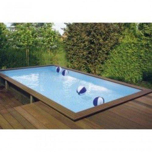 Gardipool Houten Zwembad MINI-QUARTOO 2.00m x 3.00m, 0.68m hoog