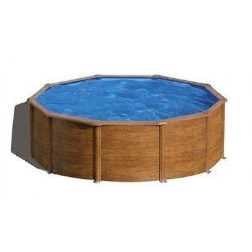 Gré Pacific stalen zwembad set - 460 x 120 cm