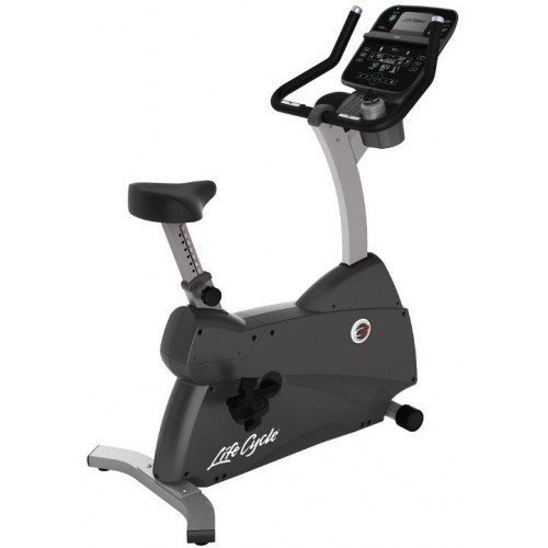 Life Fitness Upright Lifecycle Hometrainer C3 met Track+ Console