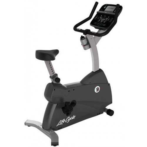 Life Fitness Upright Lifecycle Hometrainer C1 met Track+ Console