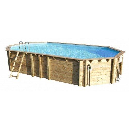 Cerland houten zwembad Odyssea Octo+ 840 x 133