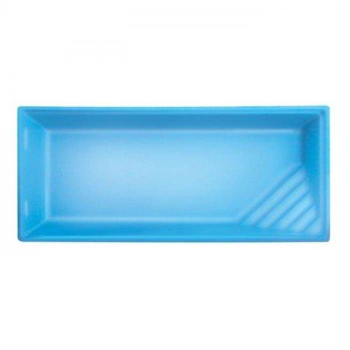 Polyester zwembad Sylt 800 x 377 x 153 cm