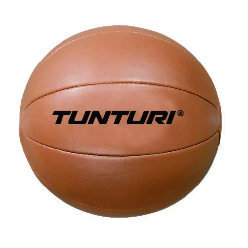 Tunturi Medicine Ball Bruin 1 kg