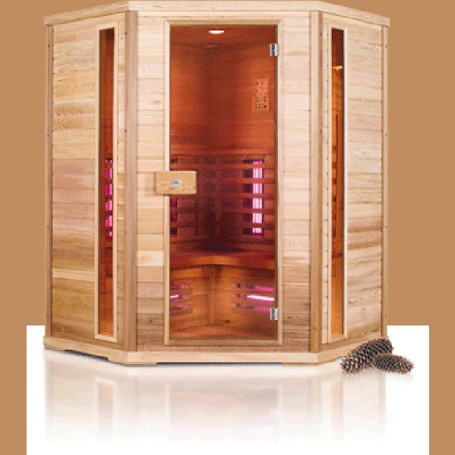 Nobel Infraroodsauna 150 C Sauna Infraroodcabine DEMO