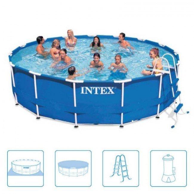 Zeer Intex zwembad Metal Frame 549 x 122 ACTIE - Rhodos-shop.nl RF56