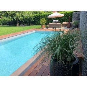 Bouwkundig zwembad 1200 x 400 x 150 cm - inclusief aanleg