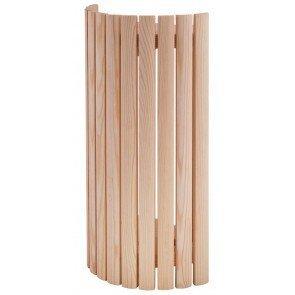 Sauna lampscherm 320 x 180 mm verticale lamellen - Pine