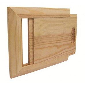 Sauna ontluchtingsschuif - Pine