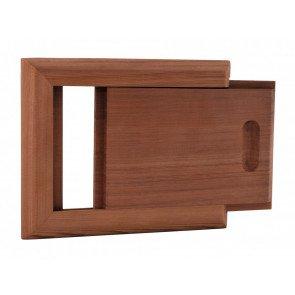 Sauna ontluchtingsschuif - Red Cedar