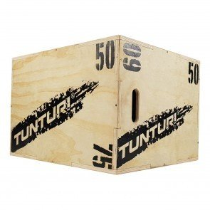 Tunturi Plyo Box Houten Fitness Kist 50/60/75cm