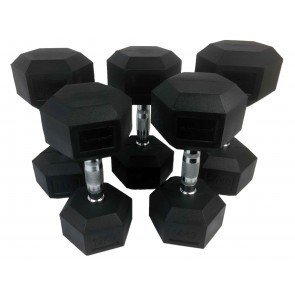 Tunturi Hexagon dumbbellset 12-20 kg