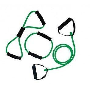 Tunturi Tubing Set met Handgrepen Groen