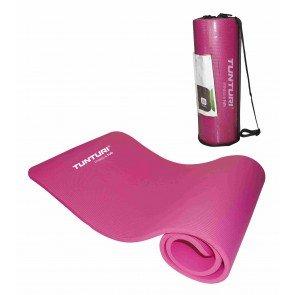 Tunturi Fitnessmat 180 x 60 cm Roze