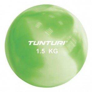 Tunturi Yoga Toningbal 1,5 Kilo Groen